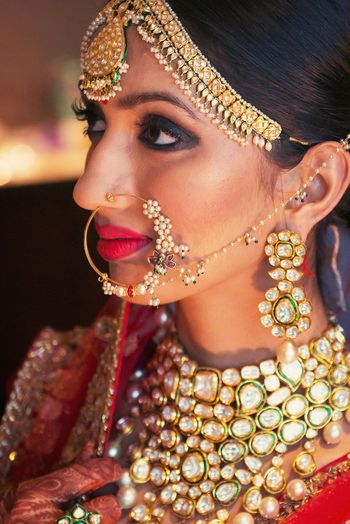 Photo of bridal nosering
