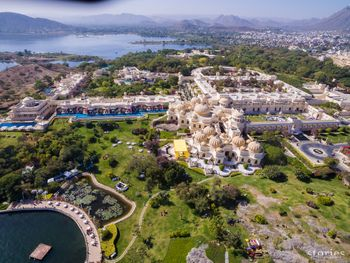 Oberoi Udaivilas top view