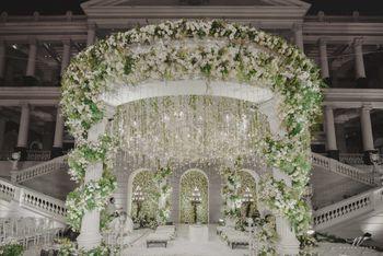 Photo of Mandap decor ideas with botanicals
