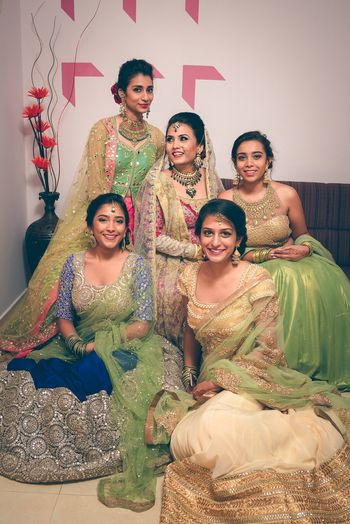 Photo of bridesmaid lehenga