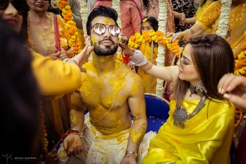 Photo of A fun haldi ceremony