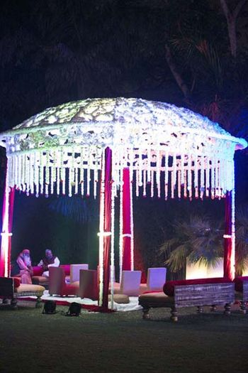 Photo of Mandap decor by ferns and petals
