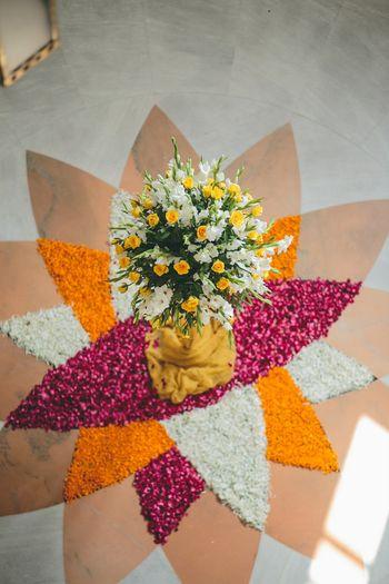 Photo of floral arrangements
