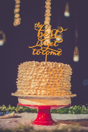 Photo of cake topper