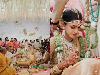 pretty south indian bridal and couple portrait