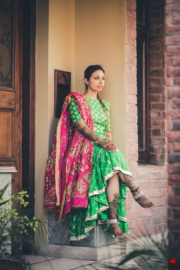 Dark Green Outfits Photo mint green anarkali