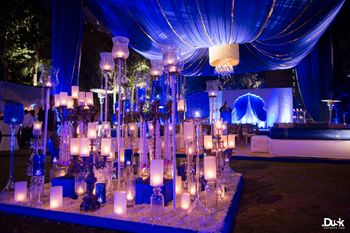 Wedding Decor Photo Candle lit decor