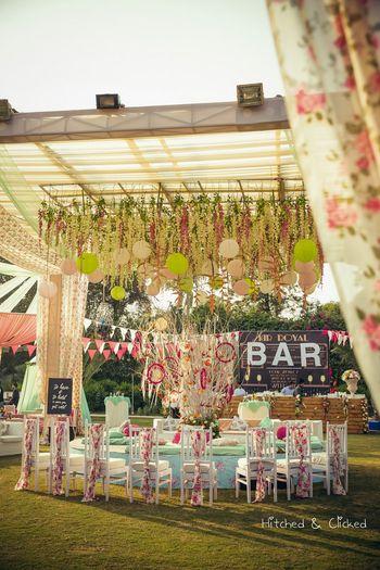 Wedding Decor Photo floral printed decor