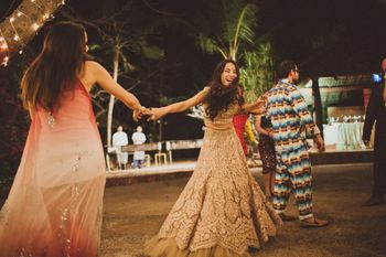 Photo of Bohemian Indian wedding