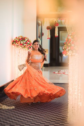 Payal singhal lehenga worn by bride