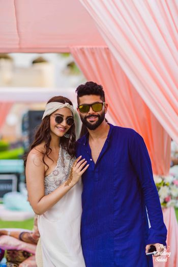 Photo of Sonam kapoor at a wedding in Muscat