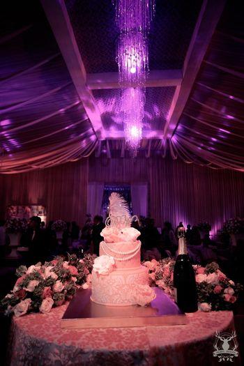 White Cakes Photo Three tier wedding cake