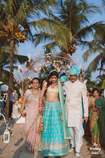 Bridal Lehenga Photo turquoise lehenga
