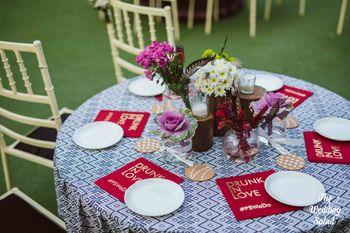Wedding Decor Photo paper napkin