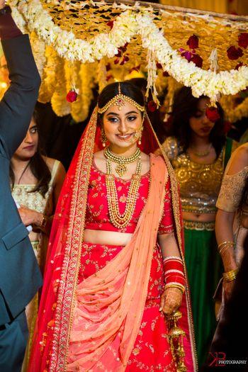 stunning bridal entry