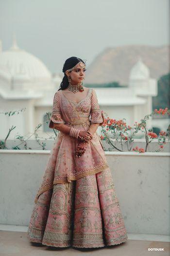 A day time bridal portrait