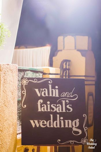 Photo of Chalkboard sign