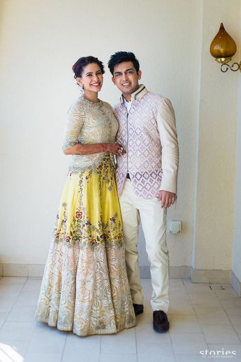 Photo of Yellow anamika khanna lehenga