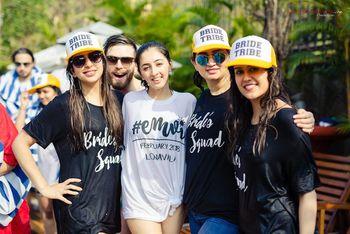 Wedding merchandise for bride squad