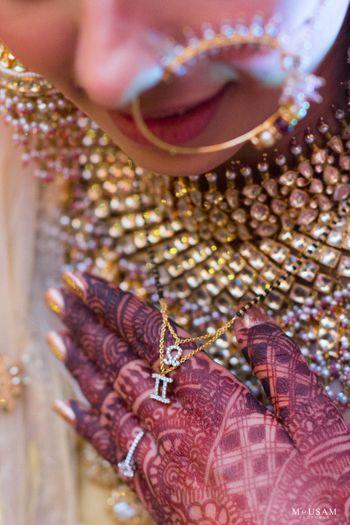 customised bridal mangalsutra