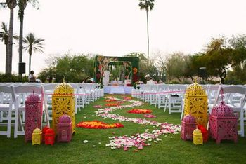 wedding day decor
