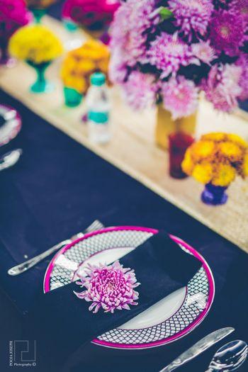 Decor Photo colorful mehendi table setting