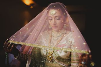 Photo of A beautiful veil shot