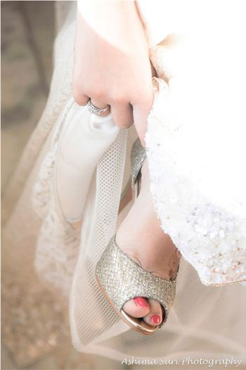 White Wedding Accessories Photo