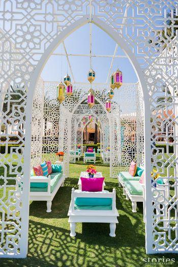 Wedding Decor Photo all white decor