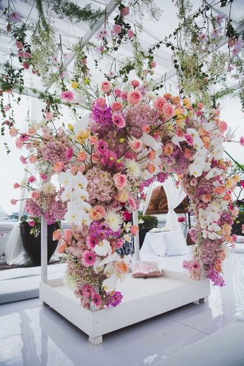 Anad karat floral decor ideas