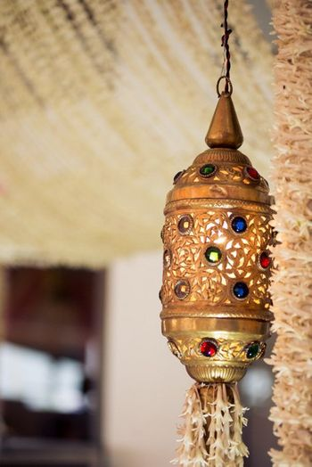 Photo of moroccan style decor for engagement