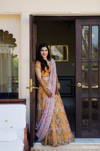 Photo of Anamika khanna bridal lehenga