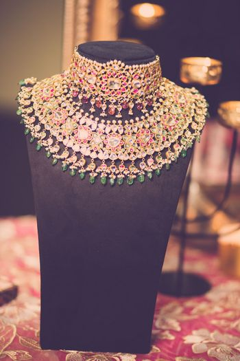 Bridal necklace chokers