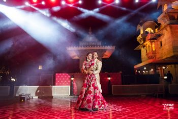 Photo of A couple dancing after their pheras