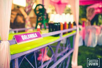 Unique live stations at wedding Golawala
