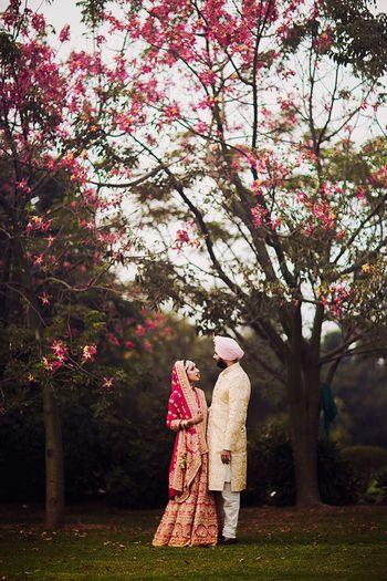 Photo of sikh couple
