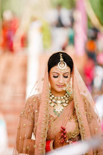 Photo of Unique bridal jewellery maangtikka
