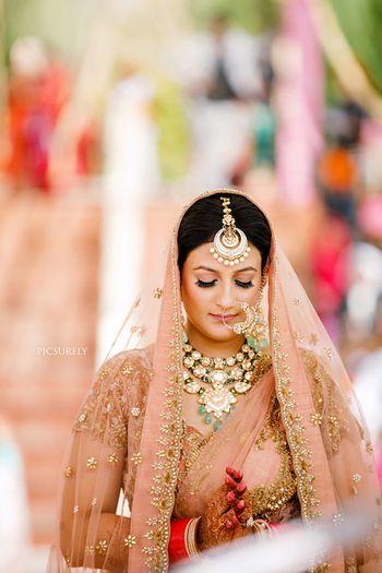Unique bridal jewellery maangtikka