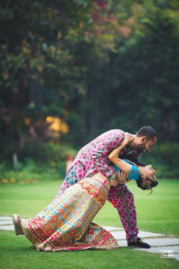 Photo of Cute and romantic couple shot