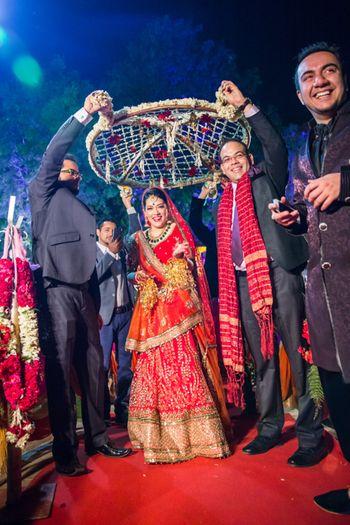 lightweight bridal lehenga