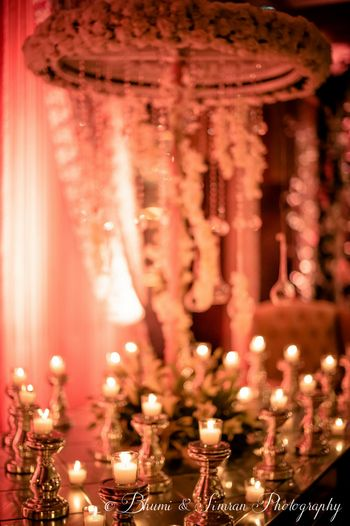 White Wedding Decor Photo