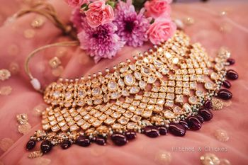 Photo of Bridal necklace jewellery photography