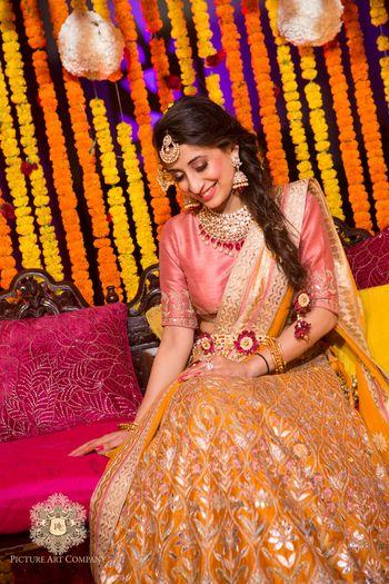 Photo of Bridal Mehendi Outfits