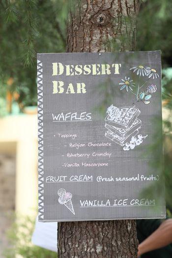 Photo of Wedding food ideas waffle bar