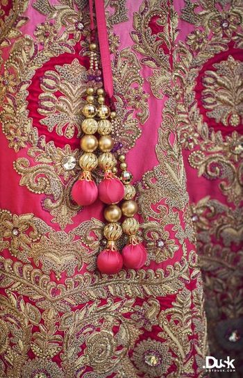 Photo of pink lehenga