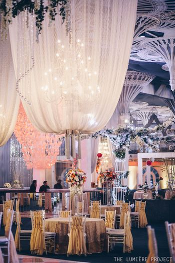 Tent ideas for luxe decor
