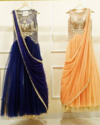 gown sari