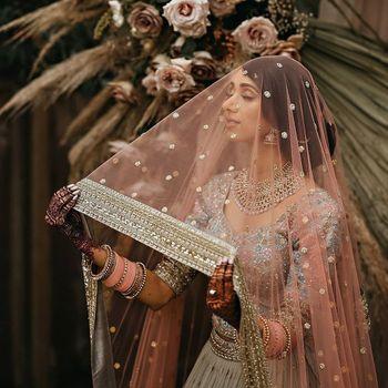 Photo of Beautiful shot under the dupatta as veil