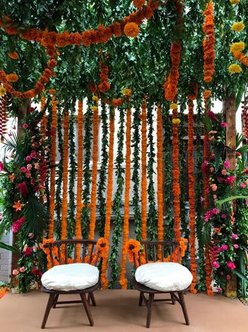Home wedding decor.