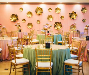 Pretty and elegant indoor decor with pastels